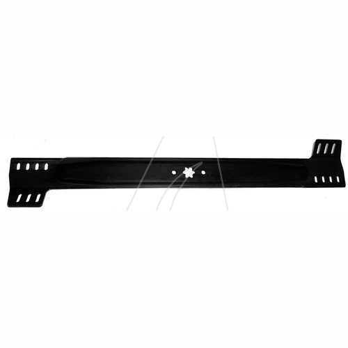 76 cm Standard Messer für Aufsitzmäher und RasentraktorenLänge [mm]: 760ZB: SternAL: 8AB: 63,5Ausführung: standardLoch- Ø [mm]: Stück je VE: Leitnummer: Standard Messer