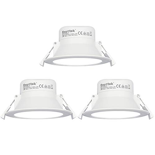Luces Focos LED Empotrables Lamparas de Techo Downlights LED 10W Blanco Frío...