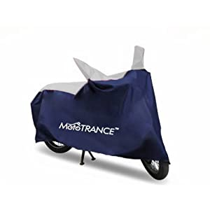 Mototrance Sporty Blue Bike Body Cover For Universal