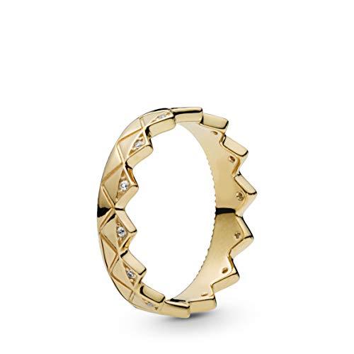 Pandora Shine Damenring Exotische Krone Ringgröße 58/18,5 168033CZ-58