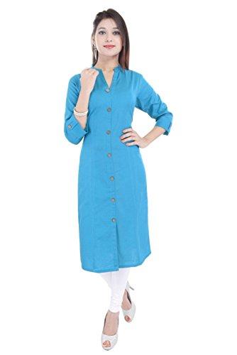 BARARI BEST Amazon Women's New Designer kurtis - COMFORTABLE Princess cut stitched...