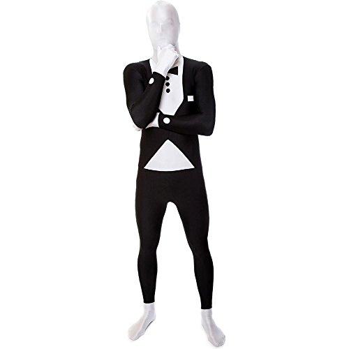Generique - Morphsuits - Kellner - Kostüm für Erwachsene (James Bond Weiß Tuxedo Kostüm)