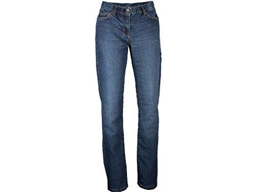 Motorradjeans King Kerosin Speedgirl Jeans Stone/blau, 32-30 -