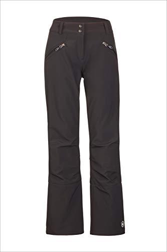 Killtec Damen NyniaSkihose / Softshellhose mit Schneefang, schwarz, 44 (XL)