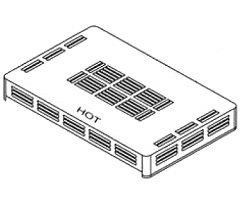Pentair Top (Pentair 470472Outdoor Top Montage Ersatz Minimax Heizer 200Pool und Spa)