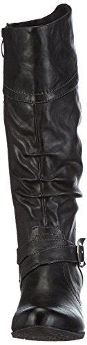 Tamaris 25518, Bottes Moto Femme Noir (schwarz (noir 001))