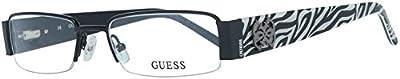 Guess Brille Gu2220 B84 52 Monturas de gafas, Marrón (Braun), 52.0 para Mujer