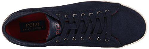 Polo Ralph Lauren Harvey Suede Sneaker Newport Navy