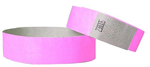 tyvek-braccialetti-3-4-inch-100-pack-rosa