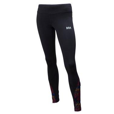 Helly Hansen Damen Leggings W Aspire Tights, Magenta-993 Black/Multicolor, XL, 49234 (Aspire Mesh)