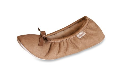 Shepherd Damen Saga Rosa Slipper marrone (Chestnut)