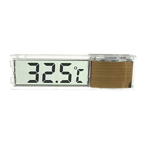 XdremYU 3D LCD Digital Wassertemperatur Aquarium Messgerät Aufkleben Thermometer Golden