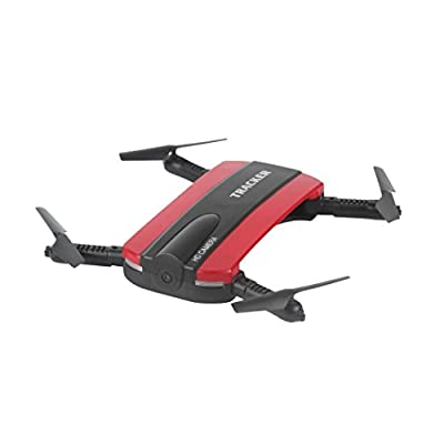 Transer® JXD 523W HD Camera RC Quadcopter- Foldable,2.4G, 6 Axis, WIFI FPV- Altitude Hold Drone Selfie Helicopter