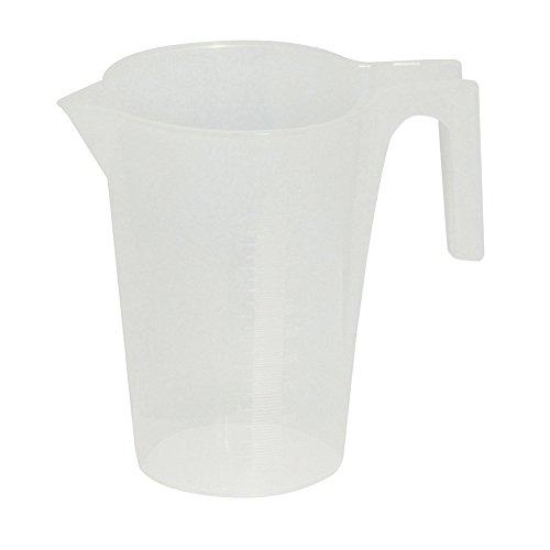 Messbecher aus PE für Öl und Schmiermittel, 5 Liter, metrische Skala