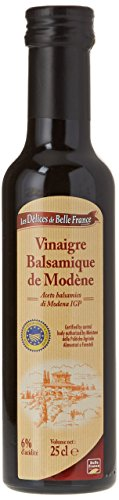 Les Comtes de Provence Vinaigre Balsamique de Modène 250 ml - Lot de 6