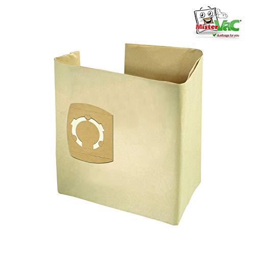 10x Staubsaugerbeutel geeignet Parkside PNTS 1400 G3 Nass/Trocken