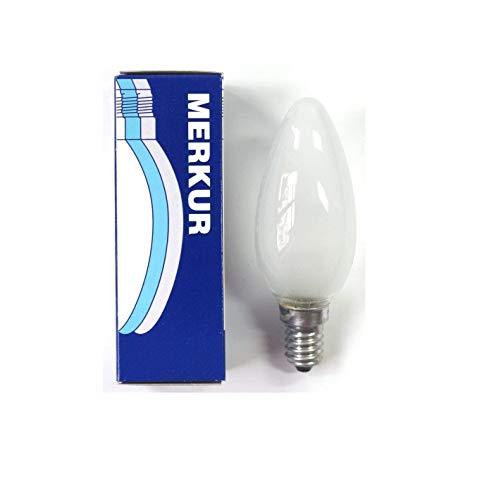 ampoule à incandescence 60W flamme dépolie E14