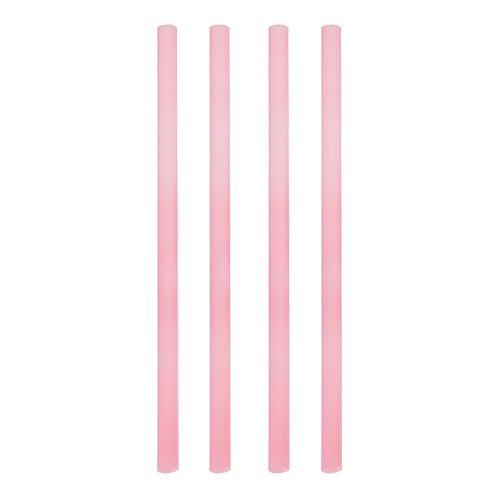 135 Shake-Halme, Trinkhalme, Jumbo Trinkhalme, Cocktailhalme, rosa pearly, Ø 8 mm, 25 cm, 84242