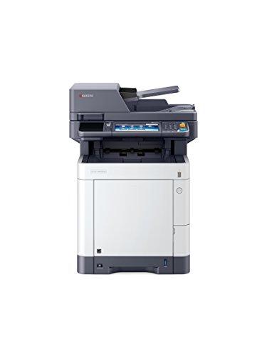 Kyocera Ecosys M6630cidn 4-in-1 Farblaser Multifunktionssystem / Drucker, Kopierer, Scanner, Faxgerät mit Touchpanel / Mobile Print-Unterstützung für Smartphone und Tablet