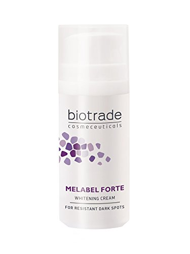 D Whitening-creme (melabel Whitening Forte Face Creme 30 ml, mit Kojic und Phytinsäure und Vitamin C, hellt beständig Dark Spots von Biotrade)