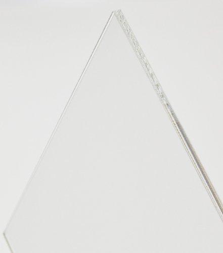 Acryl-Zuschnitt/Plexiglas-Platte transparent, 4mm XT, 50 x 36 cm