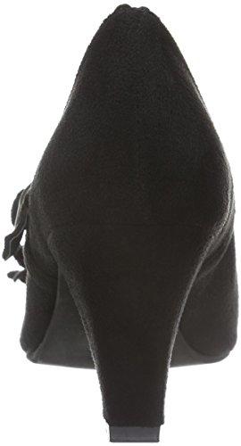 Andrea Conti - 3002724, Scarpe col tacco Donna Nero (Schwarz (Schwarz 002))