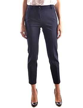 Pinko Mujer BELLO37G43 Azul Viscosa Pantalón