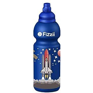 Fizzii 600ml Weltraum, Trinkflaschen, Kohlensäure auslaufsicher, kein BPA, Keine Weichmacher, spülmaschinenfest