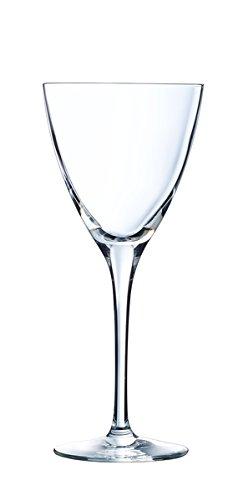 Cristal d'Arques L6727 Set de 6 Verre à Pied, Transparent