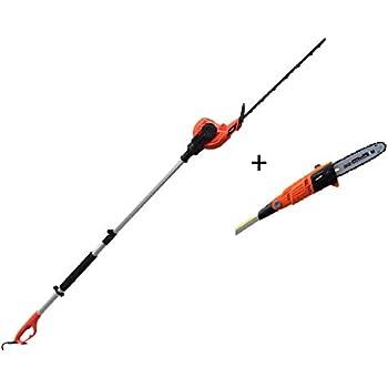 GMC 515017 2-in-1 Pole Saw//Trimmer 900W GPHC21