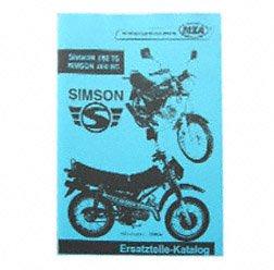 Preisvergleich Produktbild Ersatzteilkatalog Simson-Mokick .050 TS und .050 SC - Nachwende-Fahrzeug