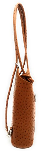 BestLeder.com, Borsa a spalla donna (Cognac)