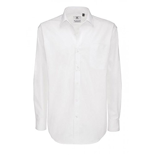 B&C - Sharp - Camicia classica in cotone Twill - Uomo Blu navy