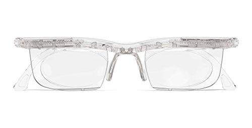 Adlens ViewPlus Brille Sehhilfe Lesebrille / farblos / +2.75 Dioptrien