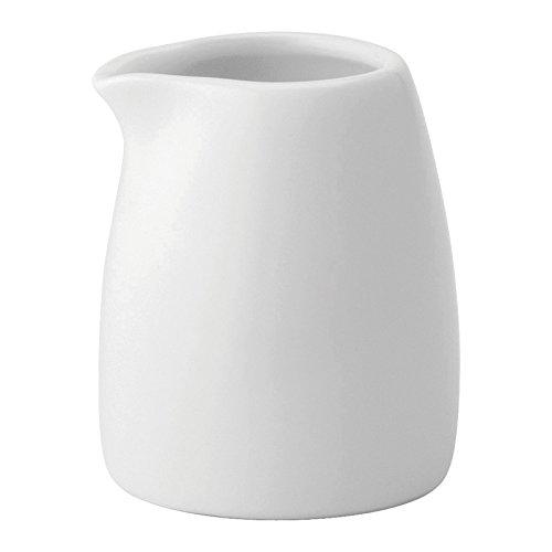 Utopia Anton Noir en porcelaine fine Z03049-000000-b01006 Crème tot, 2,5 g (lot de 6)