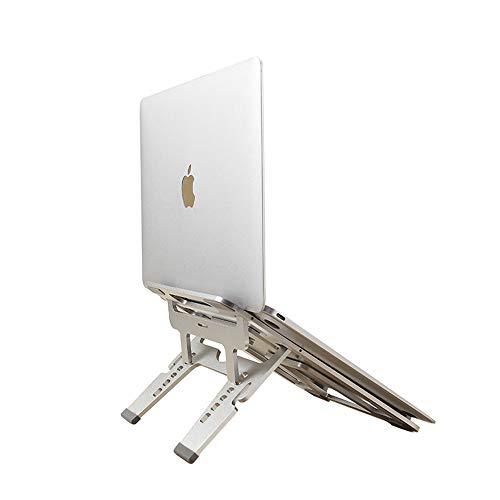 Laptop ständer U® : Verbesserte Alulegierung Cooling Laptop Stand : mac ständer , macbook ständer , macbook pro ständer , macbook air ständer , geeignet für Apple Macbook, alle Notebooks - Laptop Cooling-plattform