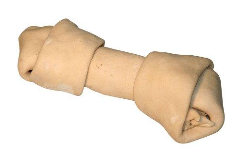 Kerbl Rinderhaut Knoten, weiß 240 g / 24 cm, 1er Pack (1 x 240 g)