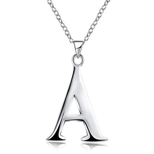 FYWEITM Halskette, Schmuck Choker Silber Halskette Stempel 925 Mode Silber Schmuck Mode Anhänger Seil Kette