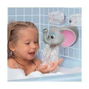 child kid kel gar tubbly elephant bubble bath dispenser spout cover baby bath. Black Bedroom Furniture Sets. Home Design Ideas