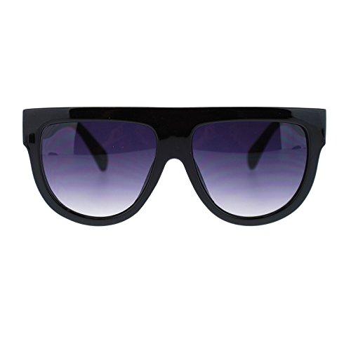 SA106 Damen-Sonnenbrille mit flachem Oberteil, Kunststoff, Übergröße