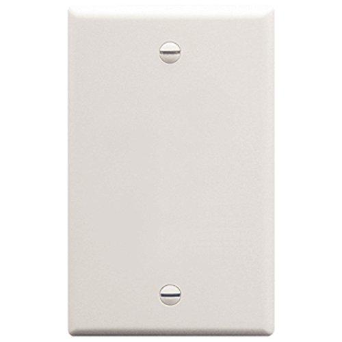Flush Wall Plate Blank WHITE -