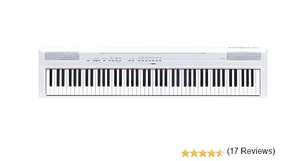 Yamaha P115wh Piano Numérique Blanc Amazonfr Instruments De