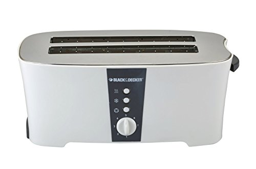 Black & Decker Et124 1350-watt 4-slice Cool Touch Toaster