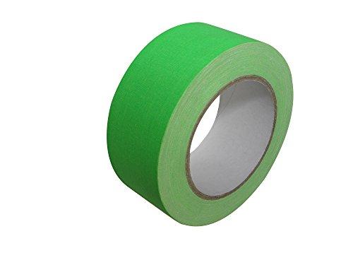 Créative Régie - Klebstoff Gaffer Fluo Vert 50mm x 25m
