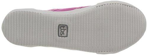 TBS - scarpe da ginnastica a collo alto  da donna Rosa(Pink (Fuschia))