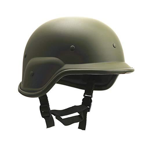 Peanutaod M88 ABS Kunststoff Camouflage Helm Outdoor Tactics CS Militärische Taktische Armee Kampf Motos Motorradhelme (Kunststoff Armee Helm)