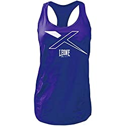 Leone 1947 ABX65 Basic - X Camiseta de Tirantes, Mujer, Purpura, M