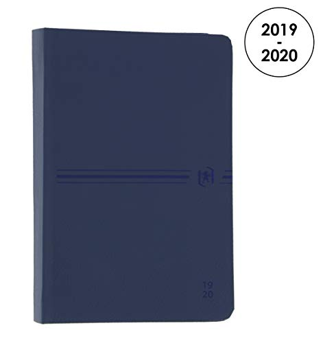 Oxford Active Agenda Scolaire Journalier 2019-2020 1 Jour Page 352 Pages 12x18 Marine