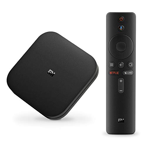 Xiaomi Android TV Box, Mi Box S 4K [Xiaomi Dernièrer version] Boitier tv Smart tv Google Set top Box Version internationale avec HD/H.265 / 4K / 3D / BT4.2