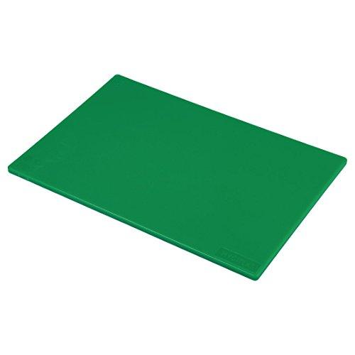 Genware G1812Poly Schneidebrett, 45,7x 30,5x 1,3cm grün Poly Schneidebrett